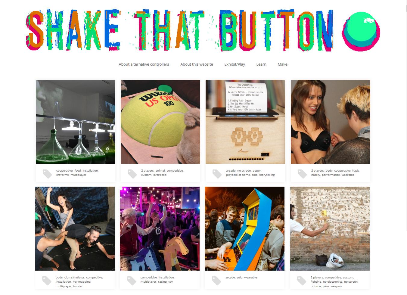 Shake That Button