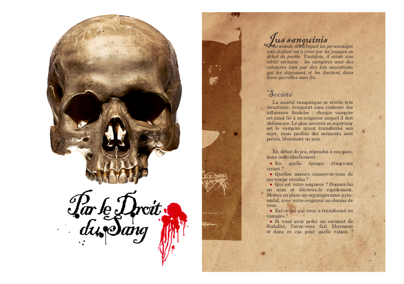 Par le droit du sang (octobre 2015)