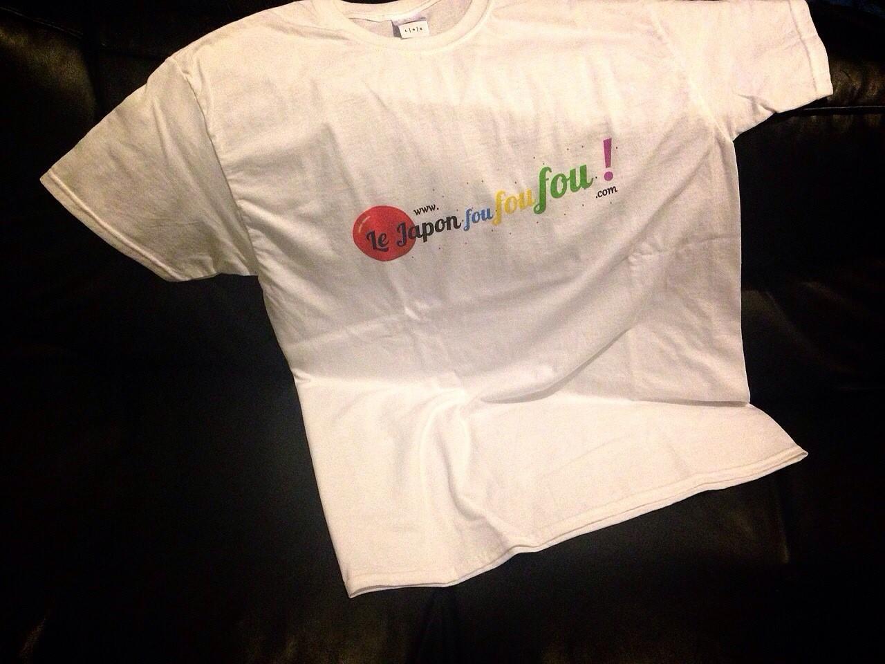 Le fameux T-shirt J3F supra classe à gagner !