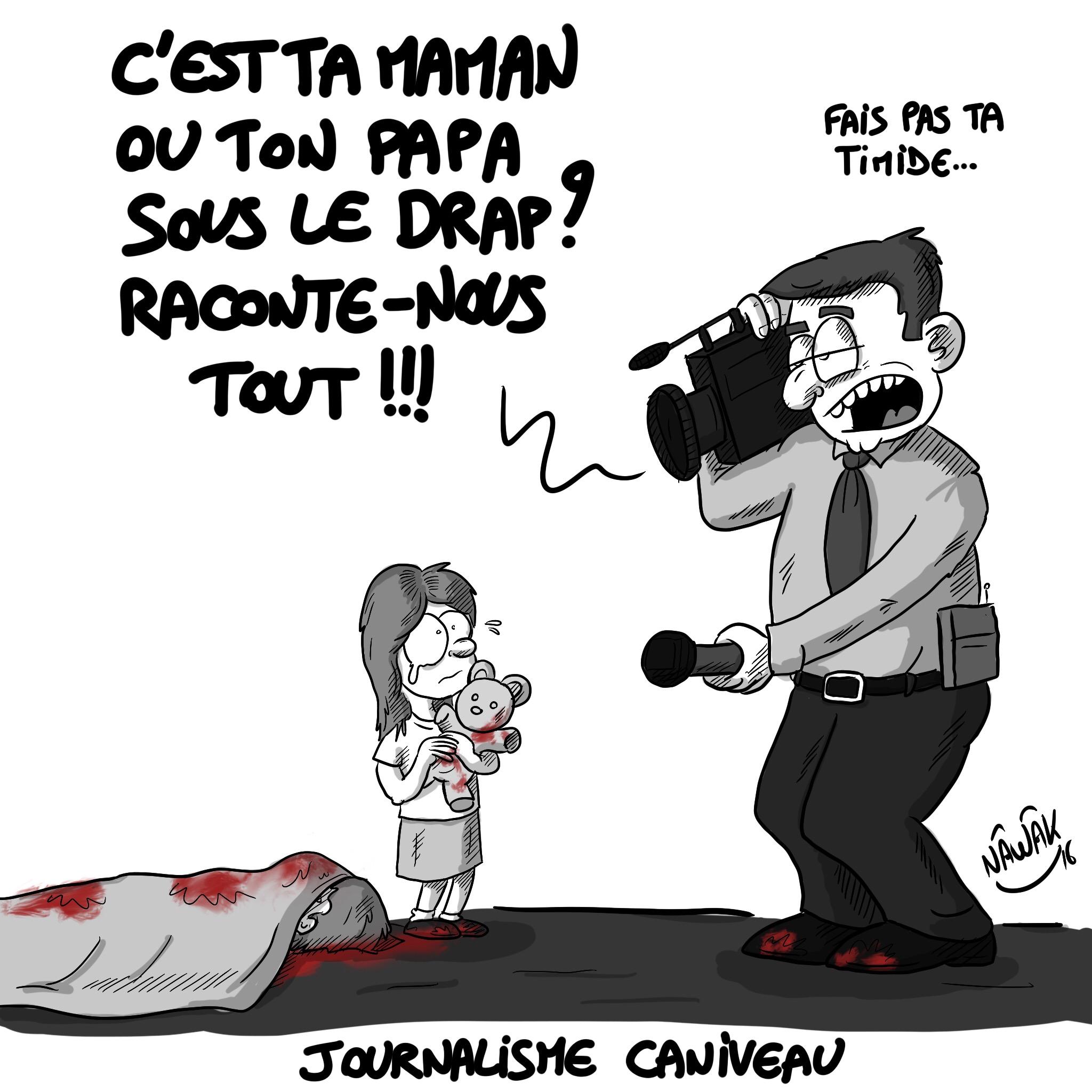 Journalisme caniveau