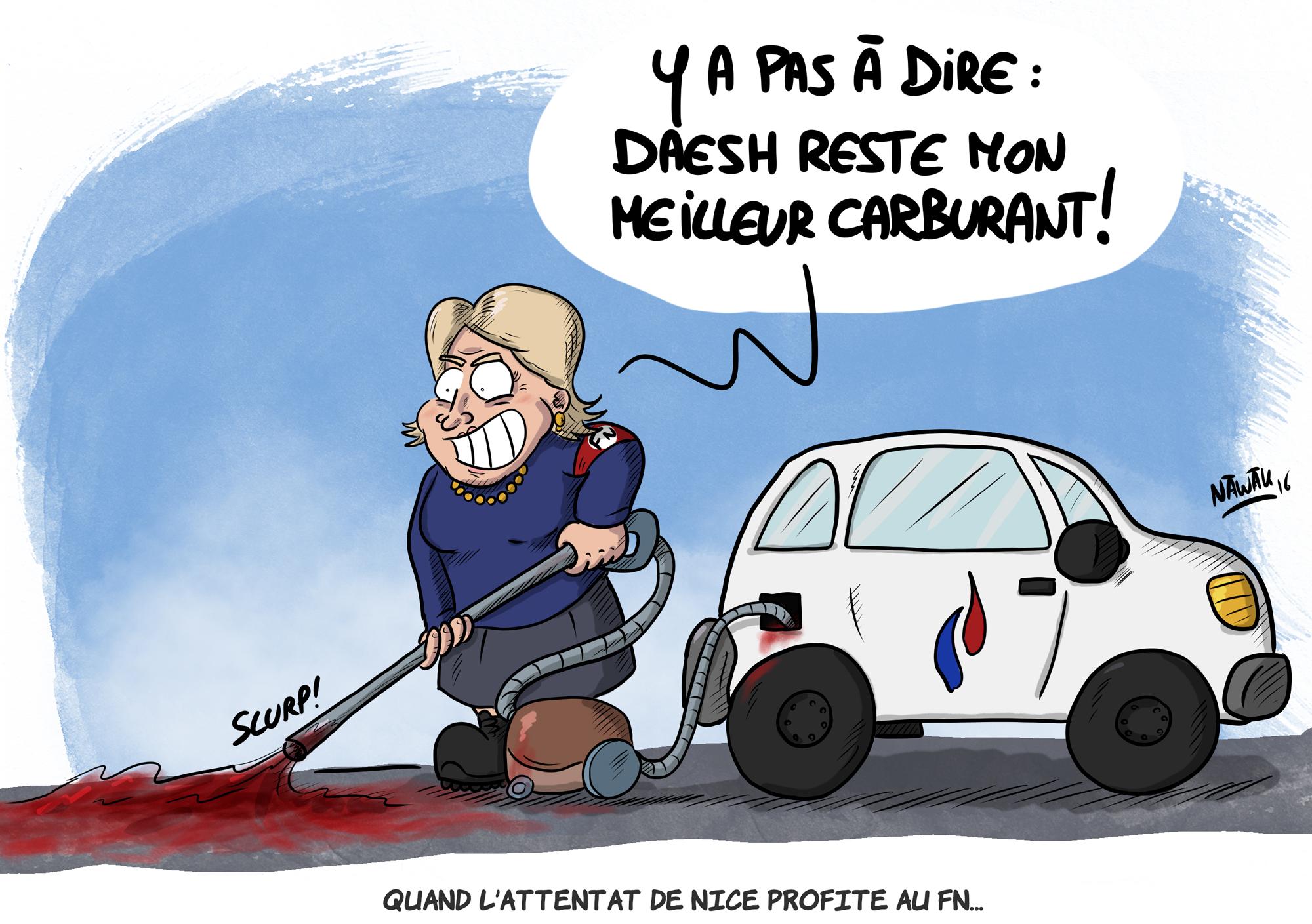 Le Pen et Nice
