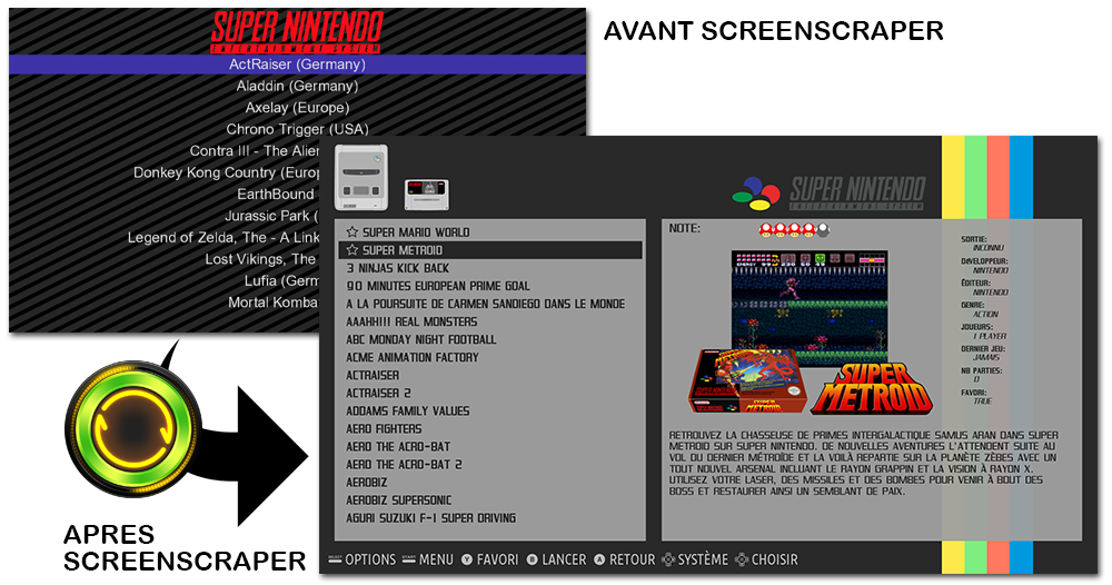 ScreenScraper are creating retro-gaming Scraper Website & API | Patreon