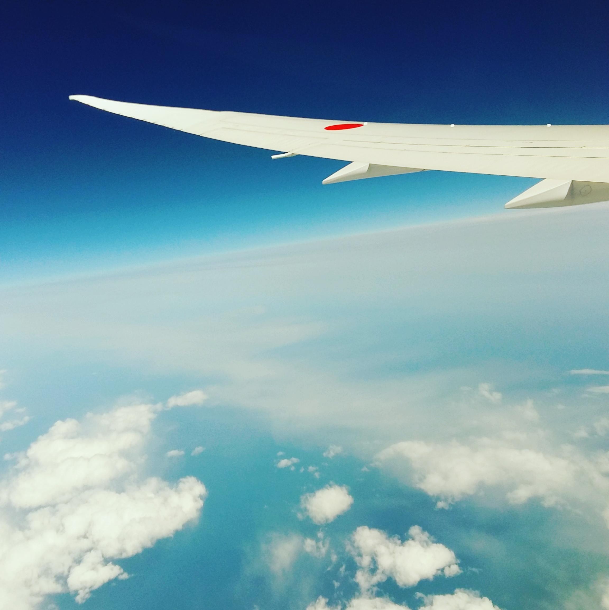 En route pour le Japon
