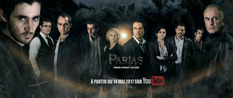 Parias - Affiche des personnages