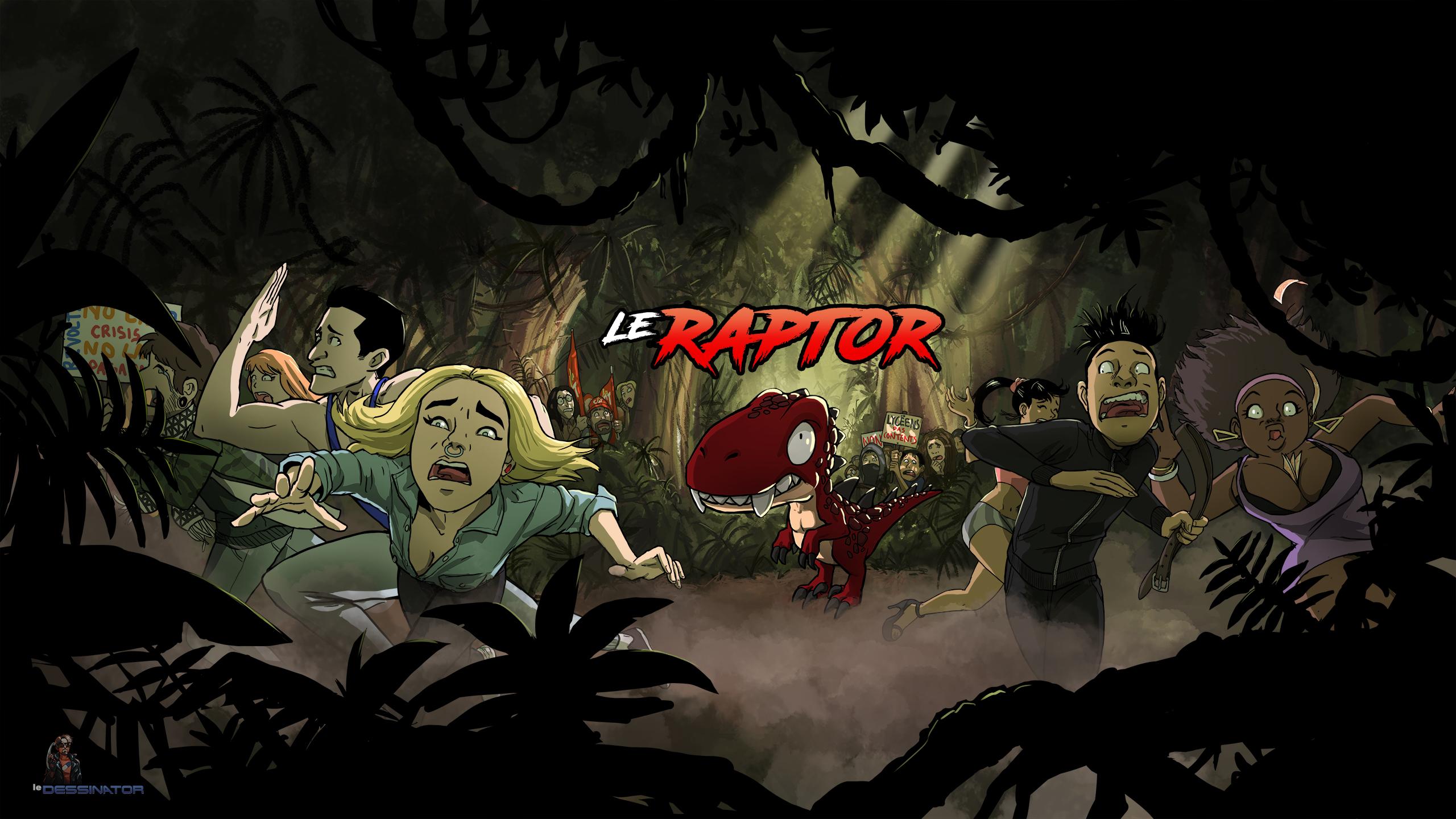 Le Raptor Dissident - Banni\u00e8re Officielle R\u00e9duite