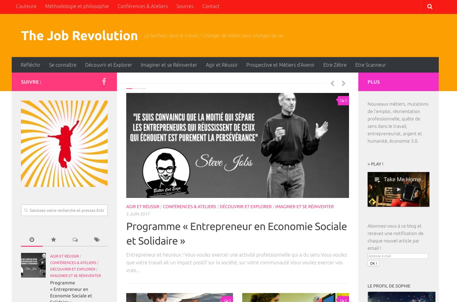 Le magazine The Job Revolution