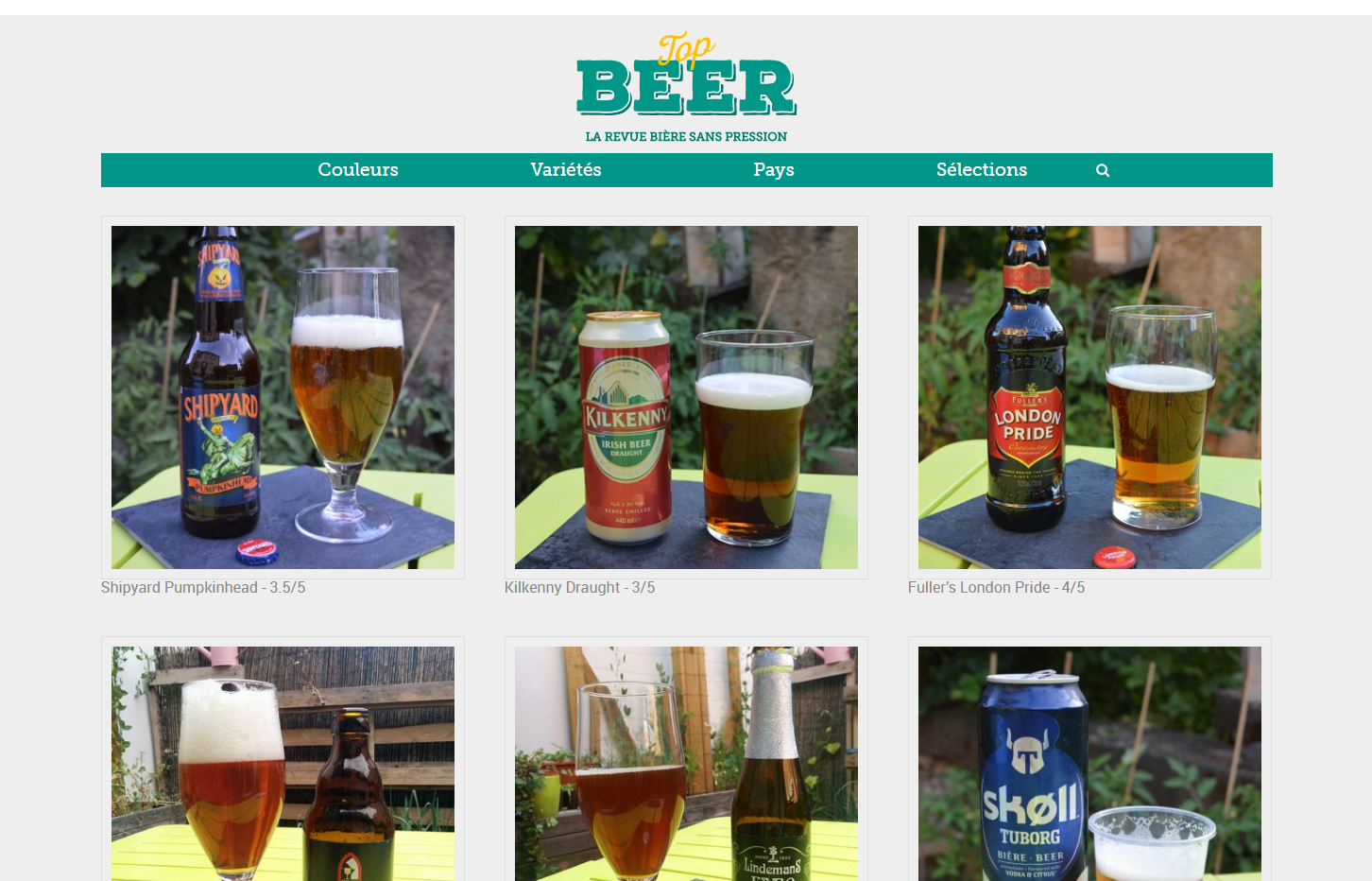 Top Beer : la revue bi\u00e8re sans pression