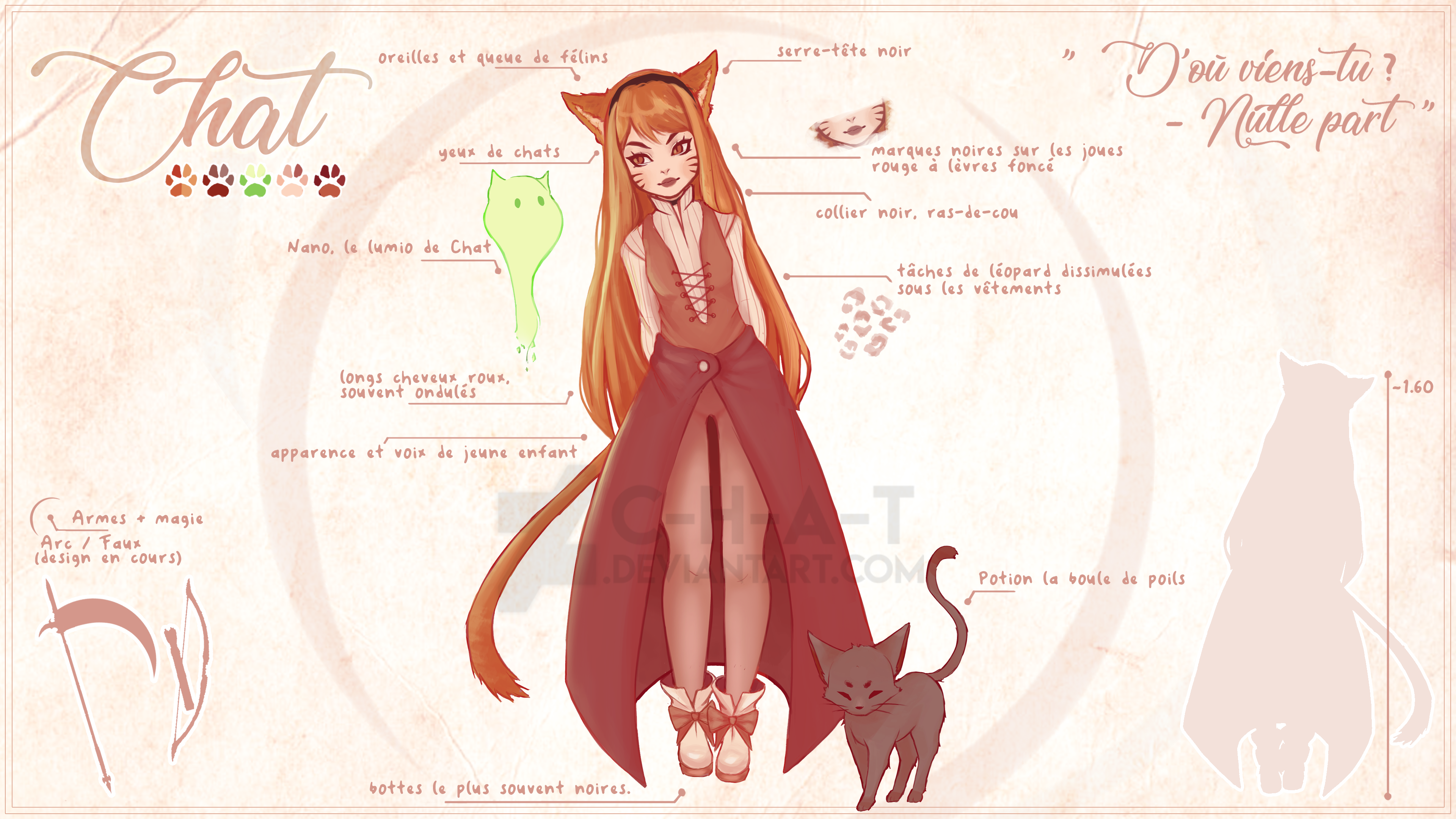 Chat (Character Design)