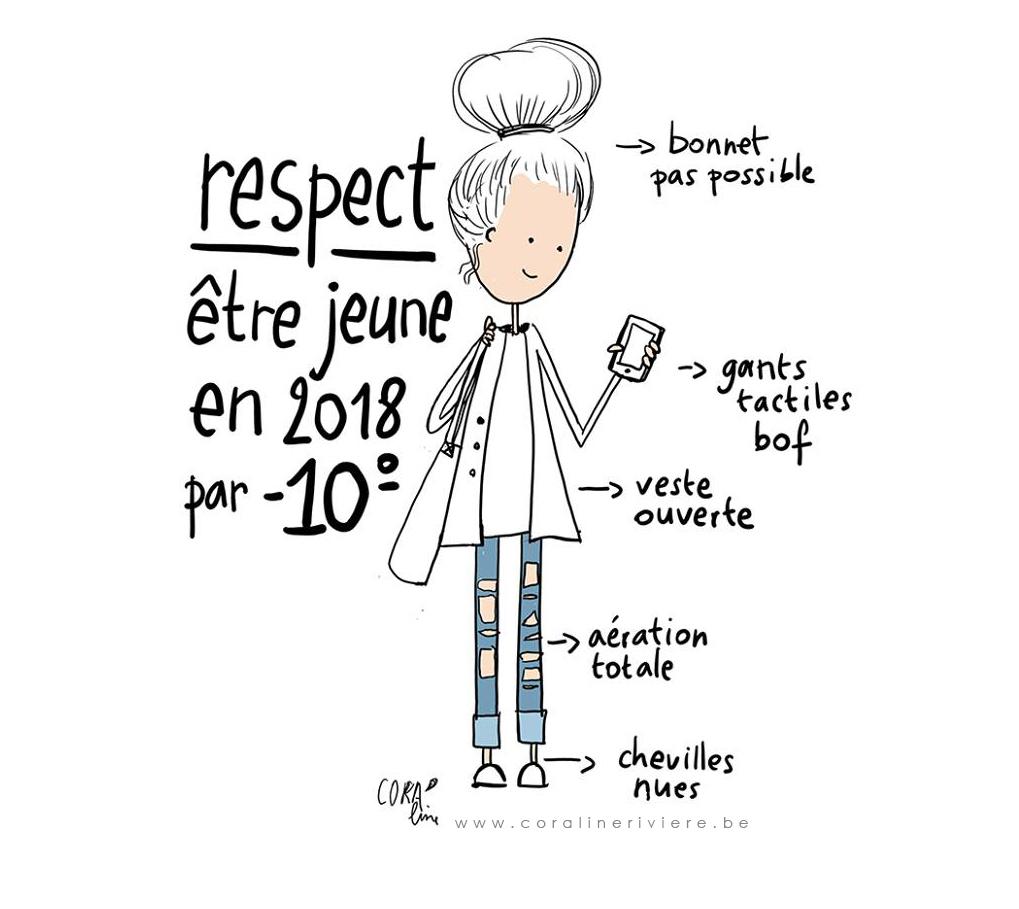 RESPECT - \u00eatre jeune en 2018 par -10\u00b0