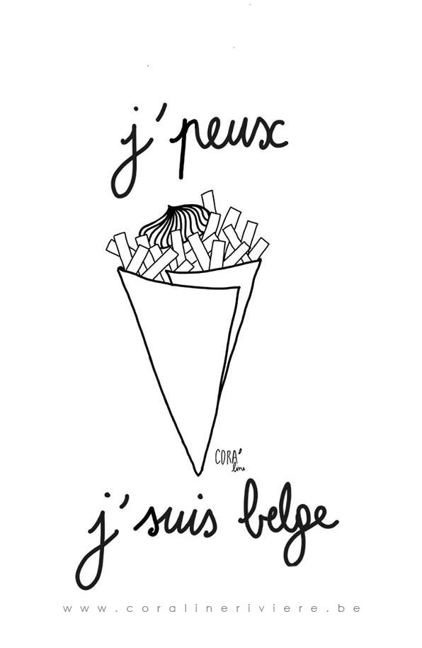 Manger des frites sans complexe: je peux, j's
