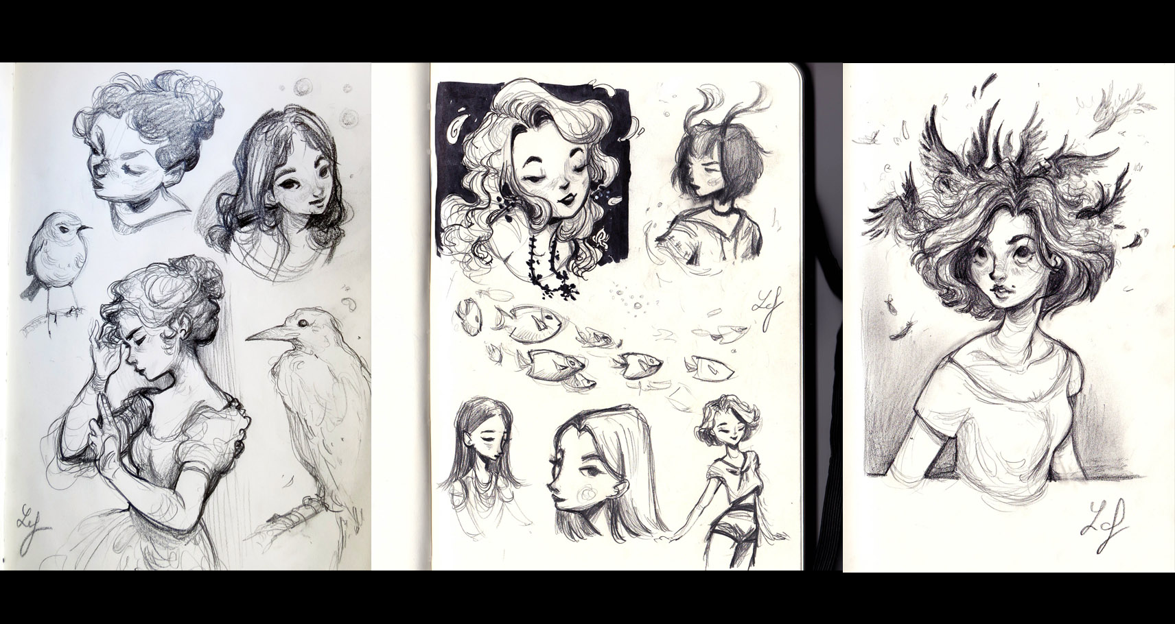 Croquis traditionnels