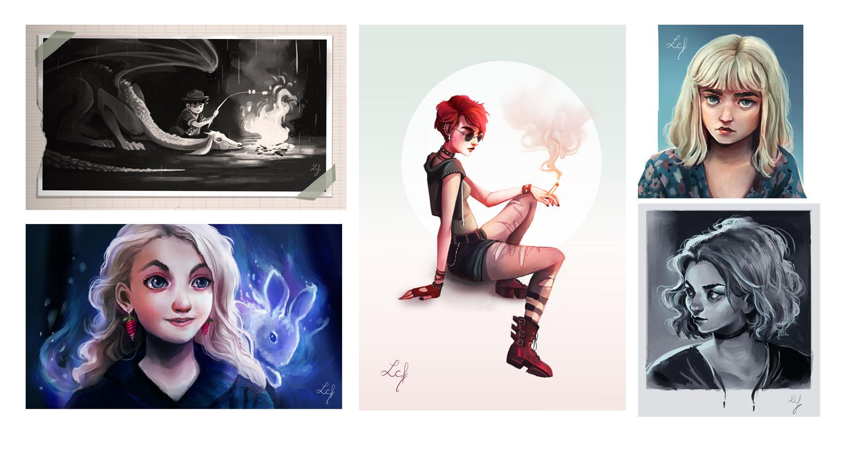 Illustrations digitales