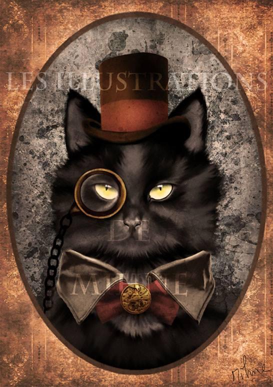 Ino, The Steampunk Cat