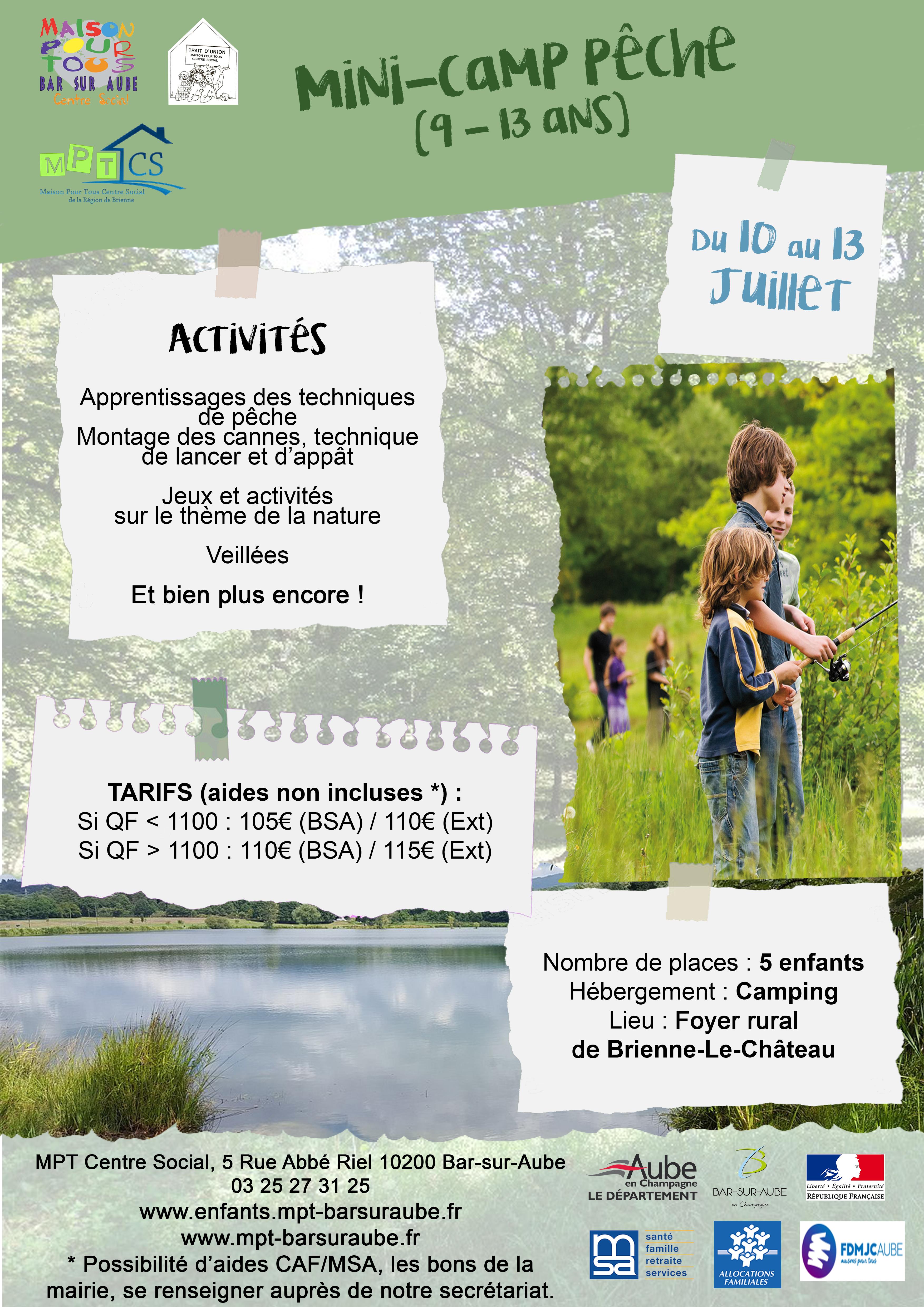 LES SÉJOURS DE L'ÉTÉ 2018