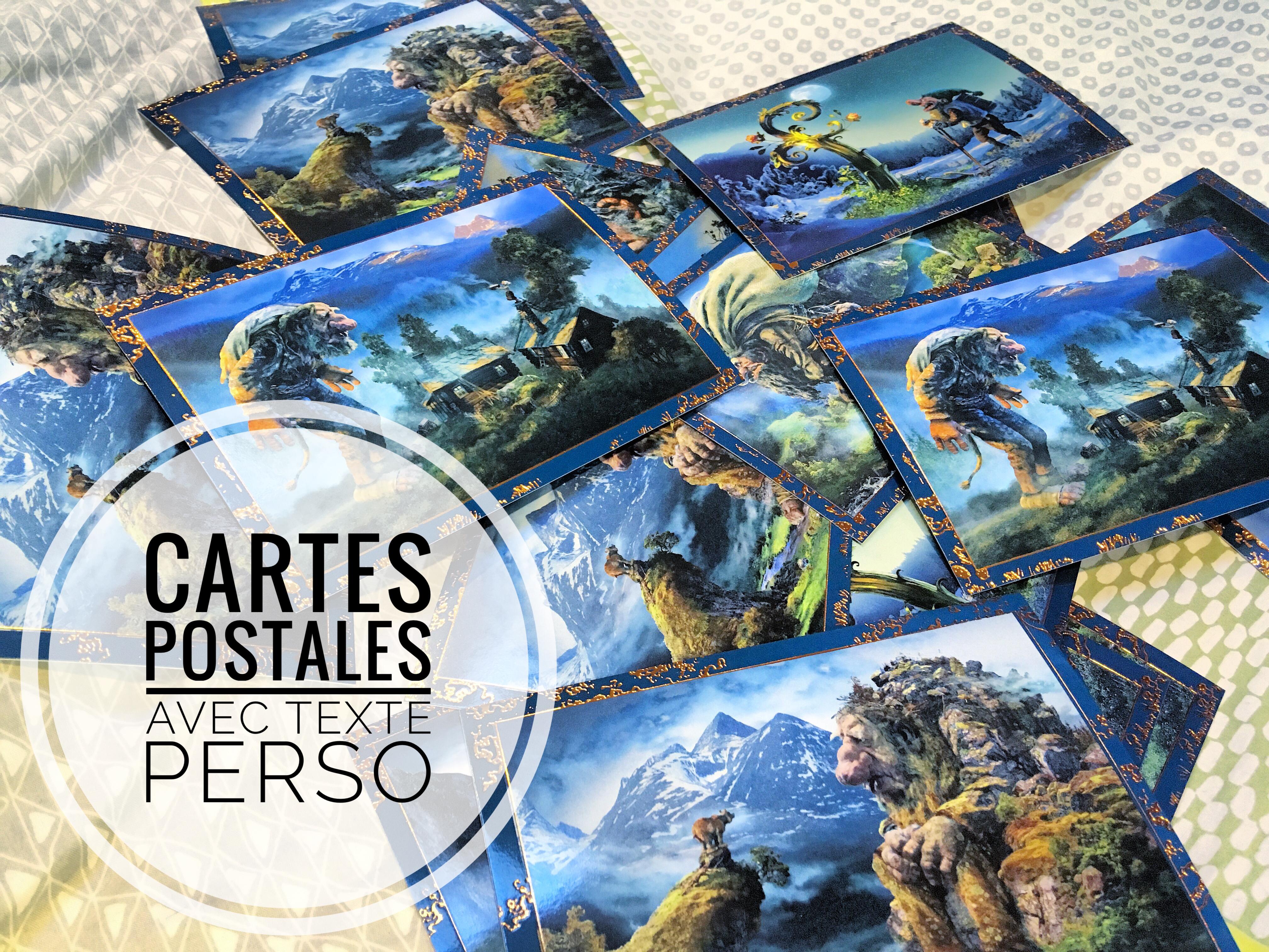 Exemple de cartes postales