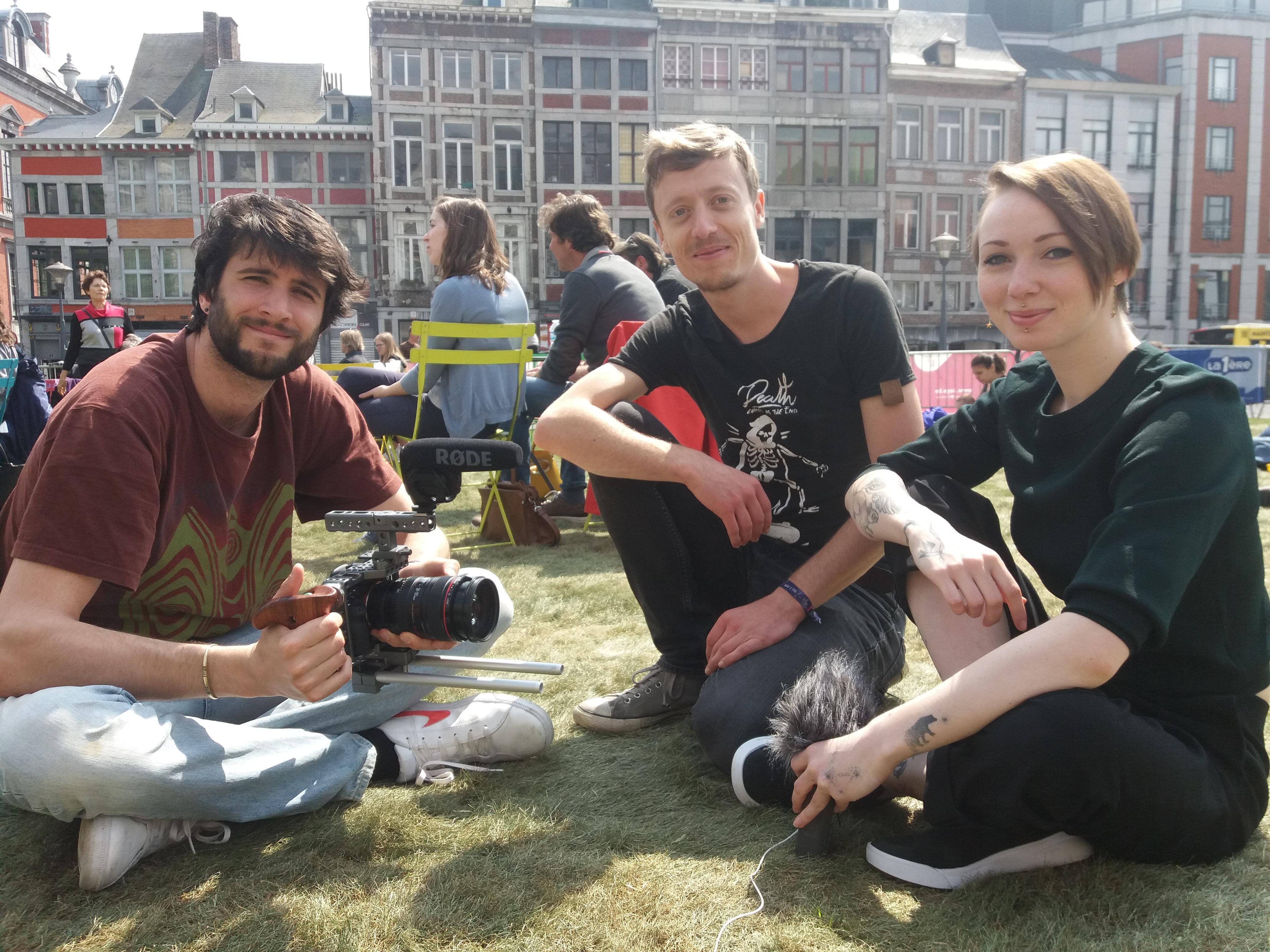 Baptiste, François et Sarah de Permavenir TV