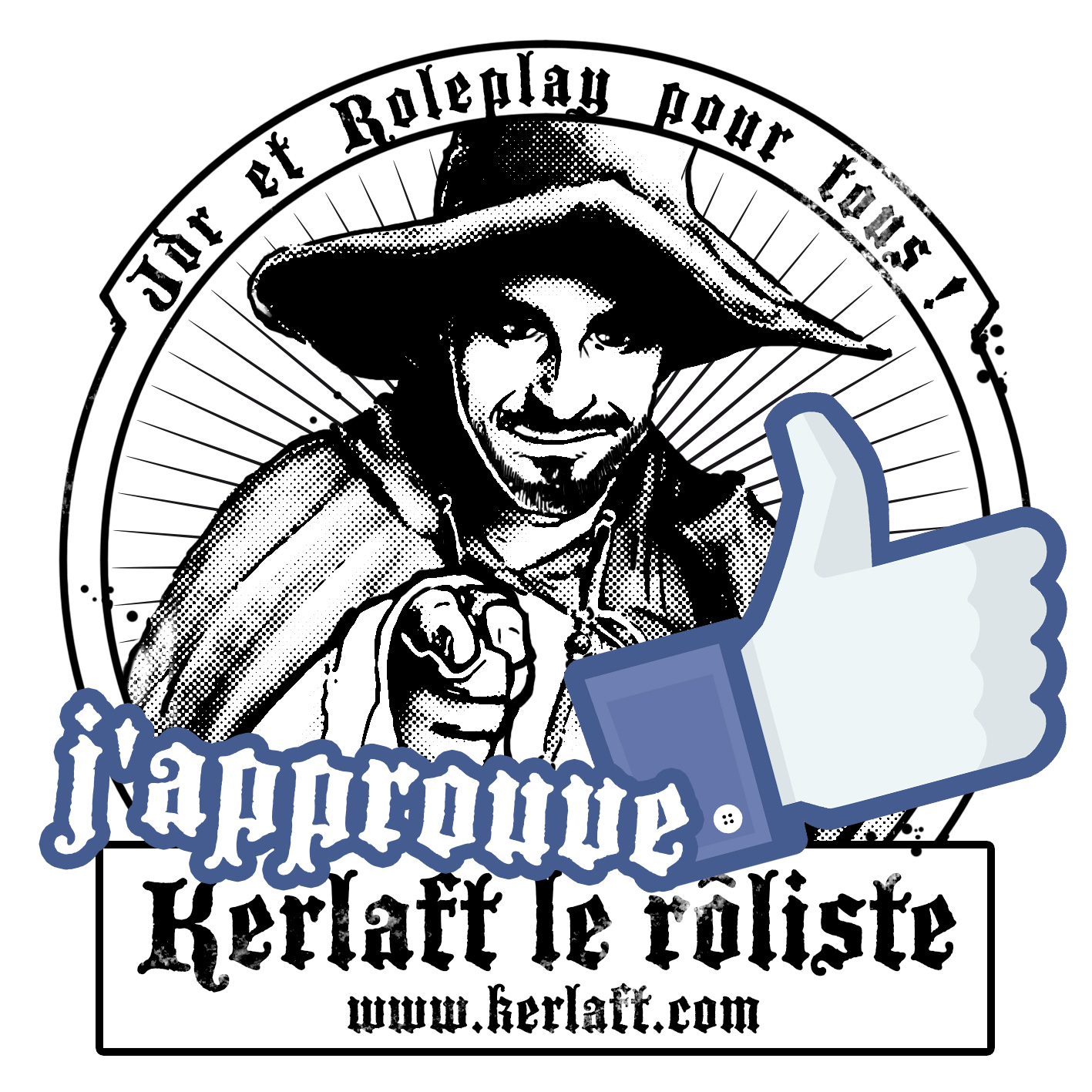 Kerlaft, rôliste since 1981, jdr et roleplay
