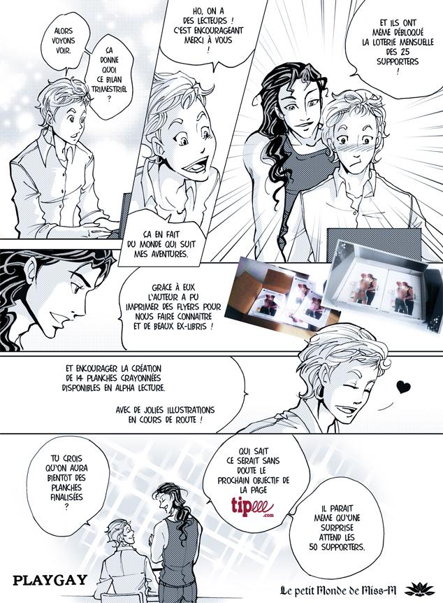 Miss-M PlayGay manga français yaoi Tipeee