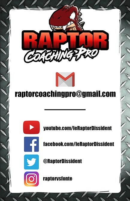 RaptorCoachingPro - Business Card